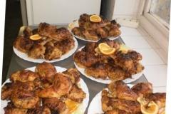 Töltött csirkecomb