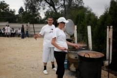Gulyás parti a bakonyjákói falunapon