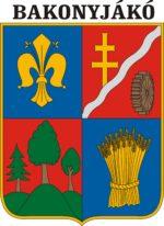 Bakonyjákó település logója